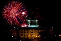 Fireworks 2015 - SD State Capitol