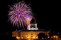 Fireworks 2016 - SD State Capitol