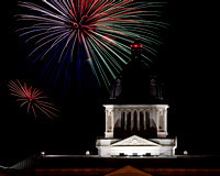 Fireworks 2011 - SD State Capitol